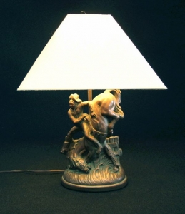 COWBOY LAMP 22 IN H