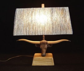 BRANDT STEER LAMP 18 IN H