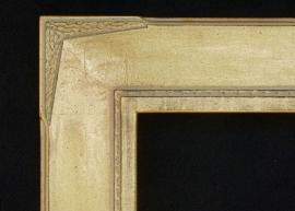 """Art Deco 4"""" Gold"""