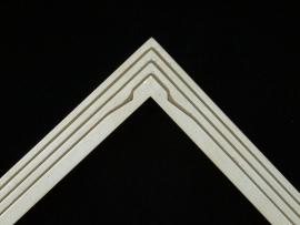 Art Deco Silver 1.75 inches wide