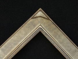 Warm Silver Custom corner 2.75 inches wide