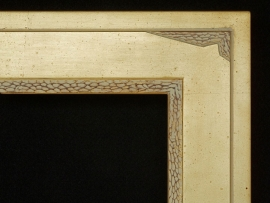 "Mell Large 4"" Moderne Additional Custom Carving"