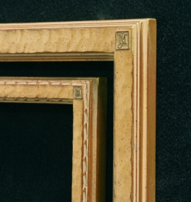 Jo Mora Signature Logo Frames 1 and 1 1/2 inch wide frames.