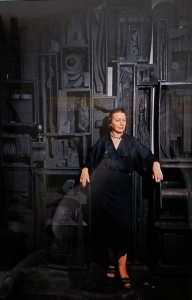 Dan Budnik Louise Nevelson,Grand Central Gallery,1958, With Cathedral I Cibachrome, $10,000.00