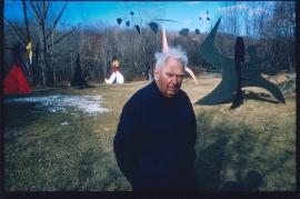 Alexander Calder, sculpture field, Roxbury, Connecticut, 1965