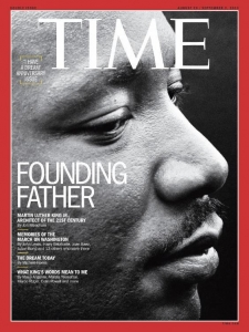 "Martin Luther King, Jr deep in meditation after delivering his ""I HAVE A DREAM"" speech. August 28. 1963. As featured on the 4 global covers of the August 26, 2013 issue of Time Magazine."