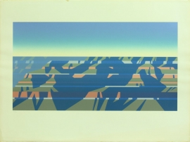 Ed Mell Grand Canyon 61/100 image 14 x 26 paper size 22.5 x 30 inches Published by Southwest Graphics, $900.00