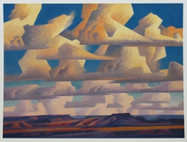Band of Clouds, Archival Pigment Print, 33.5 x 45 Artist Proof $3,400.00