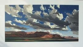 Vermilion Cliffs 2008 78 Color Stone Lithograph 20x40 $950.00