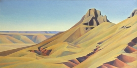 Twin Buttes, oil on canvas, 30 x 60 inches, $41,000.00