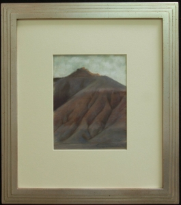 Ed Mell, pastel, 9.75 x 7.5 inches, framed 18.5 x 16 inches, $3,400.00