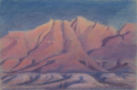 Ed Mell Last Light 5.65 x 8.5 $3,500.00