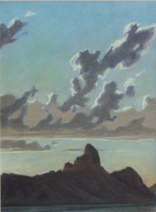 Ed Mell Picacho Peak, Arizona 14x10.5