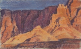Ed Mell Vermillion Cliffs 7.25 x 11.75 $4,200.00