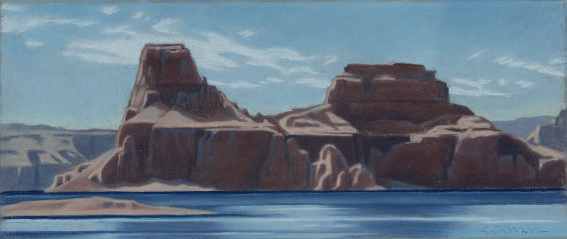 Ed Mell Pastels Collier Gallery Ltd