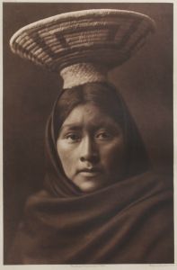 Luzi, Papago, Edward S. Curtis, North American Indian, Photogravure 1907, Plate 53 15.5 x 10.25 inches, $6,000.00