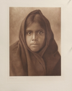 Qahatika Girl, Full Sheet, Edward S. Curtis, North American Indian, Photogravure 1907 Plate 56 15.5 x 11.75 inches, $25,000.00