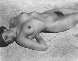 Edward Weston Nude, Tina Modotti, 1923 67N, Cole Weston Print, $12,000.00