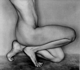 Nude, 1927 62N Edward Weston negative, Cole Weston print, 8 x 10 print, 14 x 16 inch mount, $12,500.00
