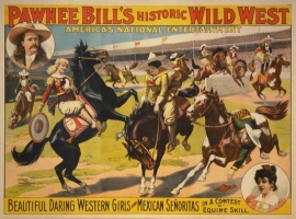 Pawnee Bill's Historic Wild West Cowgirls Girls & Mexican Senoritas