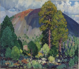 Sunset Crater, Arizona, Lon Megargee. Call for pricing and size.