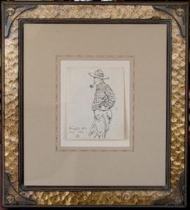 Dixon Sketch of James Swinnerton