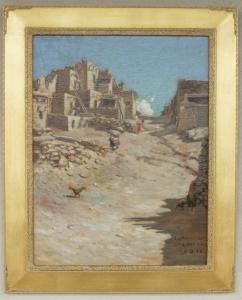 Oraibi, Ariz, 1911 Lon Megargee