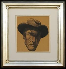 Self Portrait of Maynard Dixon 1940