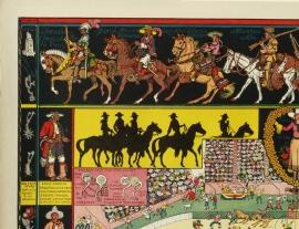 The Evolution of the Cowboy, upper left corner