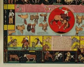 The Evolution of the Cowboy, lower left corner