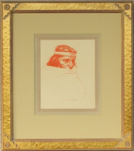 Hopi Medicine Man 1910 Original Drawing SOLD
