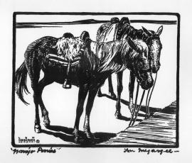 Navajo Ponies Lon Megargee