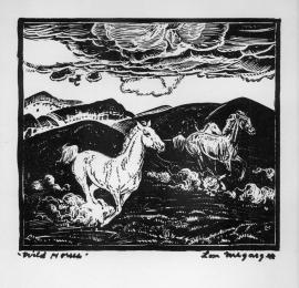 Wild Horses Lon Megargee