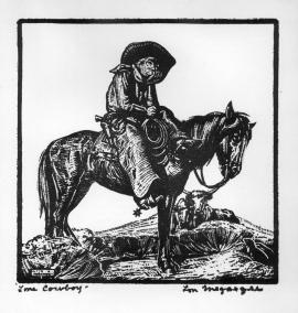Lone Cowboy Lon Megargee