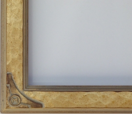 Lon Megargee Signature Frame Corner 1.5 Wide