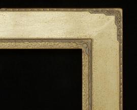 Megargee LG4 Gold Custom Carved Corner Circle M Inset