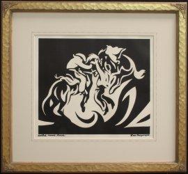 Lon Megargee Block Prints