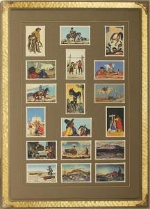 Series of 18 Postcards