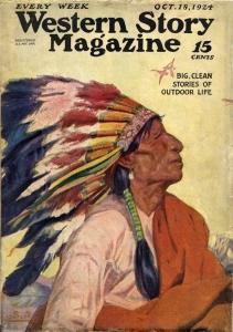 Western Story October 1924
