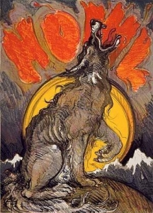 Howl, Stone Lithograph 1977 36 x 26 inches. Call for availability.