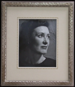 Edith Hamlin Dixon Silver Gelatin Print Ansel Adams, ca. 1940, Maynard Dixon drawing Frame. Display item, NFS