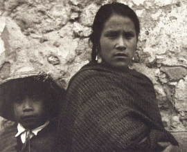19. Young Woman and Boy - Toluca