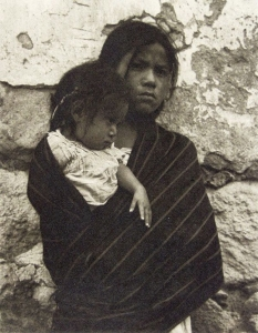 16. Girl and Child - Toluca