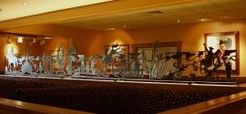 Metal Sculpture Black Angus Steakhouse Chandler Arizona