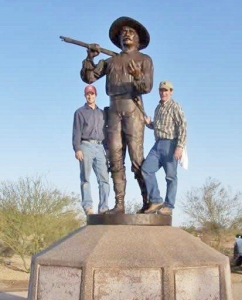 Mormon Battalion Monument Installation Yuma, Arizona 2007