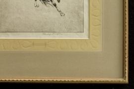 Henry Ziegler Frame Detail