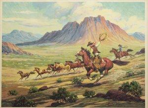 Mustang Runners 23 x 31