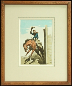 Maynard Dixon - Coming Out - Framed