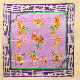 GALGARY STAMPEDE RODEO SILK SCARF Inquire about the many others we have