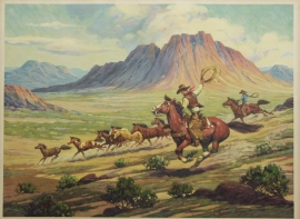 Mustang Peeler,Till Goodan 23X31 Price on Request for individual print. Set of six $1000.00, free shipping